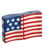 Flags Flying Salt and Pepper Shaker Set