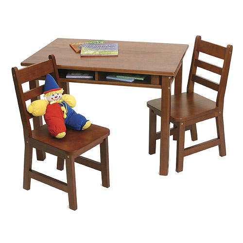 Kids Table And Chair Set Cherry In Kids Furniture