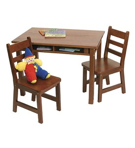 Kids Table and Chair Set - Cherry Image