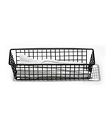 3 x 9 Inch Grid Drawer Organizer - Black
