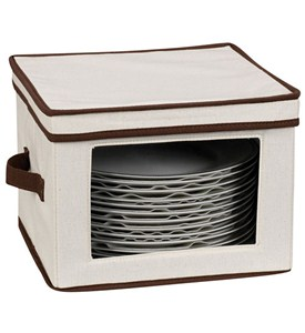 Vision Canvas Dinner Plate Storage Box Image