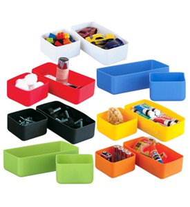 Squish Drawer Storage Organizers - Set of 2 Image