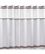 Curtains Ideas brown shower curtain rings : Shower Curtains and Rings | Fabric Shower Curtain | Curtain Hooks