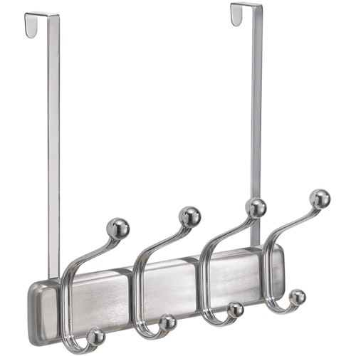 Over The Door Coat Rack   Chrome Image