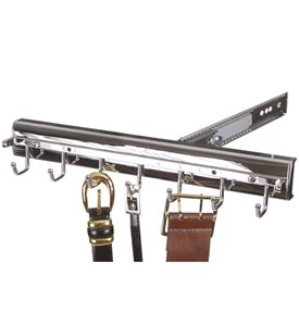 Premier Pivoting Belt Rack - Polished Chrome Image