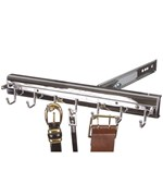 Premier Pivoting Belt Rack - Polished Chrome