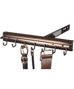 Premier Pivoting Belt Rack - Oil Rubbed Bronze