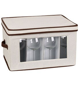 Vision Canvas Stemware Storage Box Image
