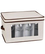 Vision Canvas Stemware Storage Box