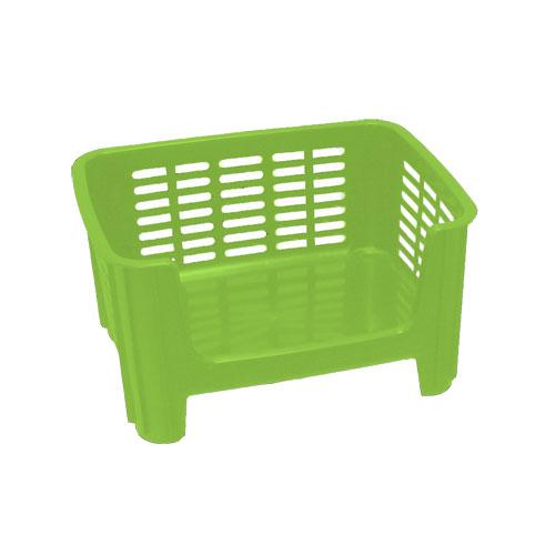 Stackable Storage Bin Lime Green In Plastic Storage Bins