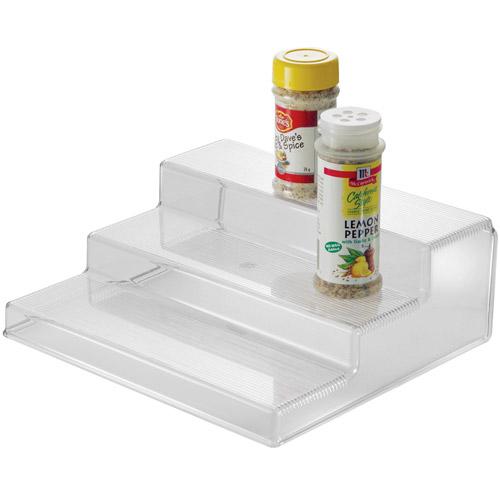 3 tier cabinet organizer shelf in cabinet shelves. Black Bedroom Furniture Sets. Home Design Ideas