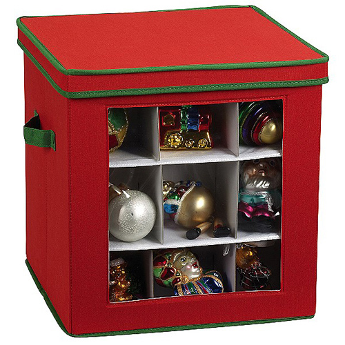 Christmas Ornament Storage Box in Ornament Storage Boxes