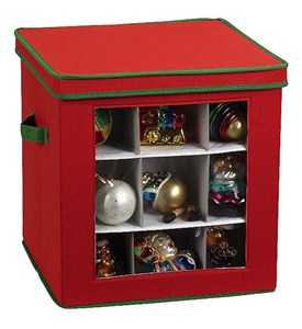 Christmas Ornament Storage Box Image