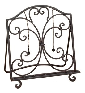 Cookbook Holder - Wrought Iron Image