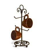 Wrought Iron Countertop Mug Holder