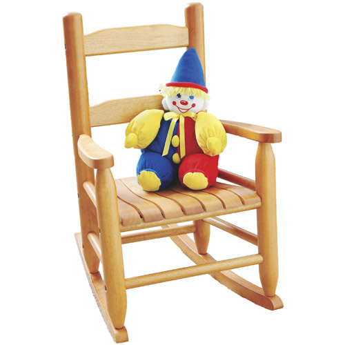 Childrens Rocking Chair - Natural Beechwood Image