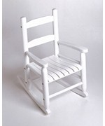 Childrens Rocking Chair - White