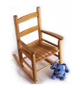 Childrens Rocking Chair - Pecan Image