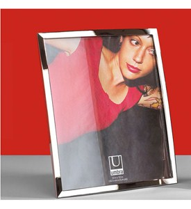 Umbra Senza 5 x 7 Picture Frame - Chrome Image
