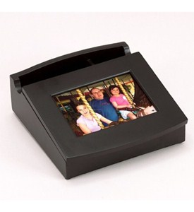 Jewelry Box Picture Frame - Black Image