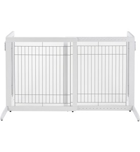 Richell Freestanding Pet Gate HS - White Image