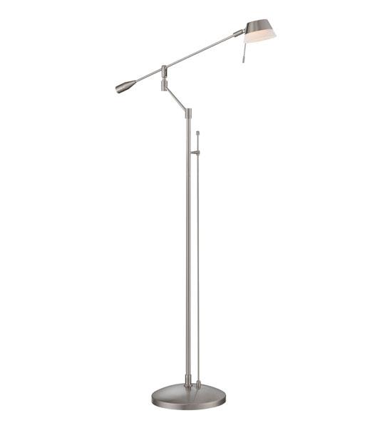 swing arm floor lamp in floor lamps. Black Bedroom Furniture Sets. Home Design Ideas