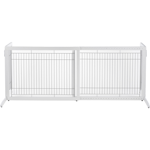 Richell Freestanding Pet Gate HL - White Image