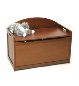 Wooden Toy Chest - Cherry Image