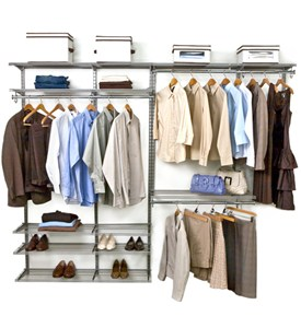 freedomRail Double Hanging Shoe Wire Closet Image