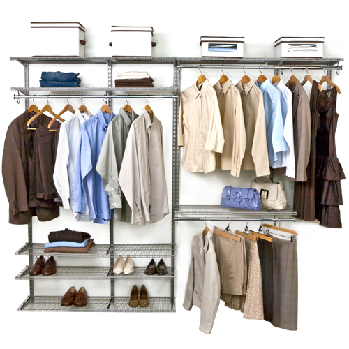 FreedomRail Double Hanging Shoe Wire Closet ...