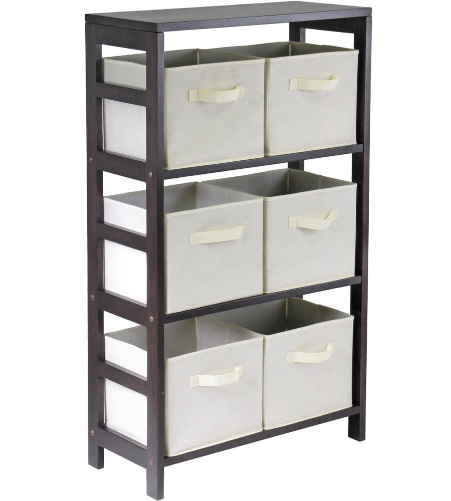 6 Basket Storage Shelf Price: $149.99