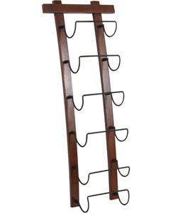 6 Bottle Wine Rack Image