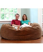 6' Comfort Cloud Foam Bean Bag by Hudson