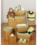 Nursery Basket Set - Green