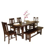 Dining Set - Cappuccino