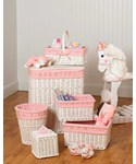 Nursery Basket Set - Pink