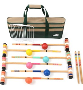 6 Player Croquet Set - 26 Inch Image