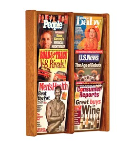Literature Rack - 6 Pocket Image