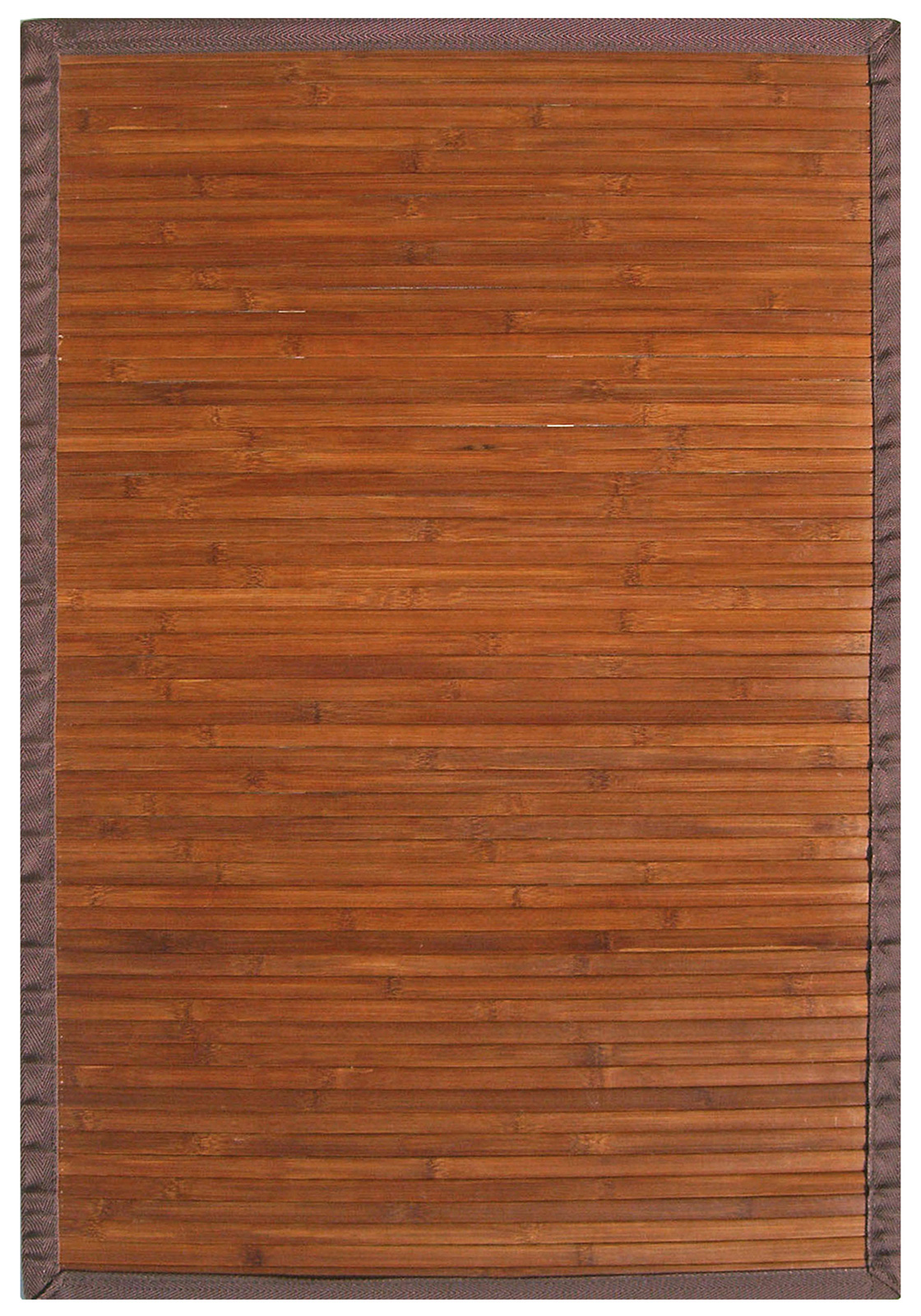 Contemporary Chocolate Bamboo Rug By Anji Mountain In
