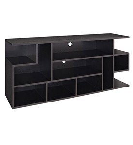 60 Inch Wood Media Console Image