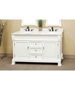 60 Inch Double Traditional Single Sink Vanity Wood by Bellaterra Home