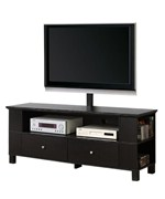 60 Inch Wood TV Stand with Mount and Storage by Walker Edison