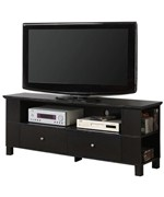 60 Inch Wood TV Stand with Multi-Purpose Storage by Walker Edison