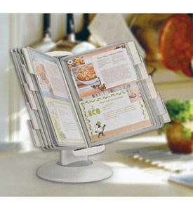 Dual-Motion Recipe Card Holder Image