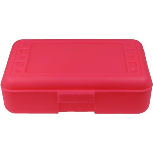 School Pencil Box - Pink in Locker Organizers