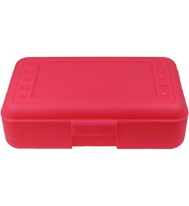 School Pencil Box - Pink Image
