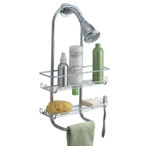 Classico Hanging Shower Caddy - Chrome in Shower Caddies