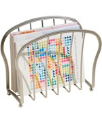 Floor Magazine Rack - Satin