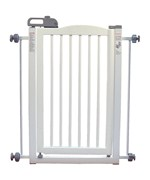 Richell One Touch Pet Gate - Origami White