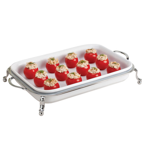 Ceramic Rectangular Serving Dish in Buffet Supplies : 607 rectangle serving dish from www.organizeit.com size 550 x 600 jpeg 30kB